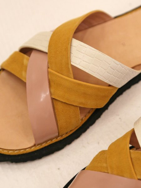 Rachel Comey Wheel Sandal - Tumeric Multi