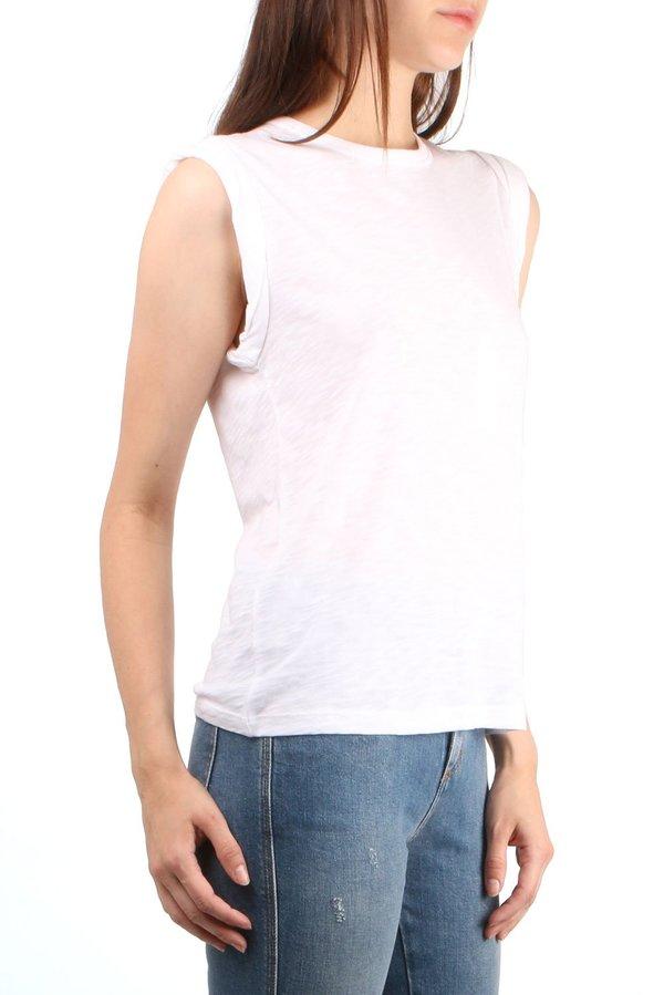 Veronica Beard Dree Muscle Tee - White