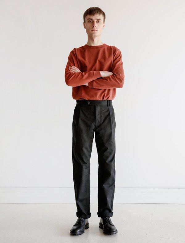 James Coward Heavy Drill Trouser - Black