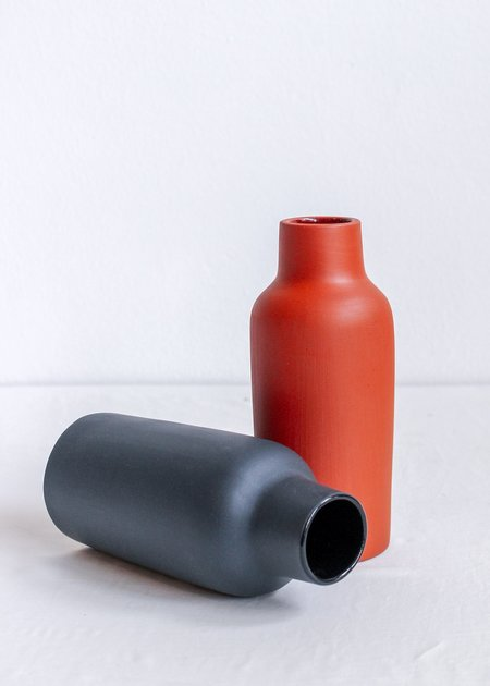 The Granite Bottle Ceramic Vase