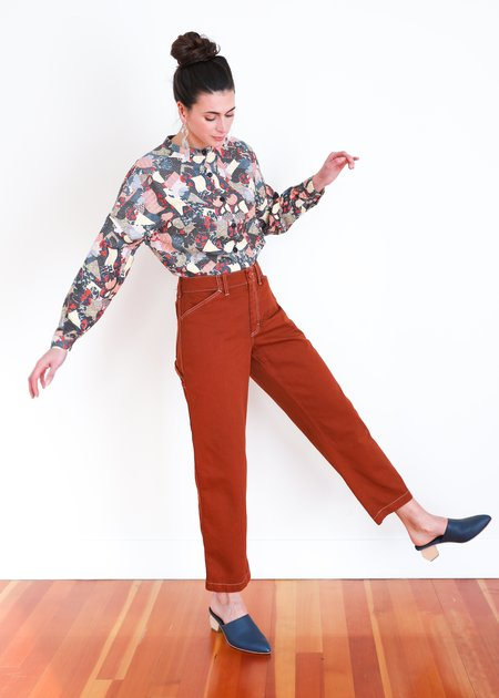 Gravel & Gold Painter Pant - Clay