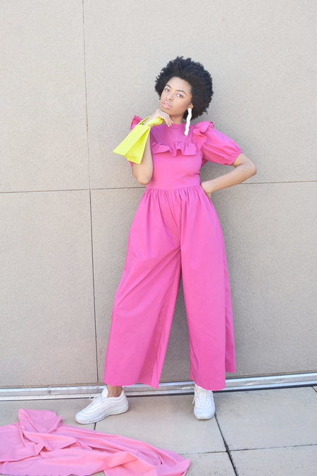 Nika Tang Claire Jumpsuit - Pink