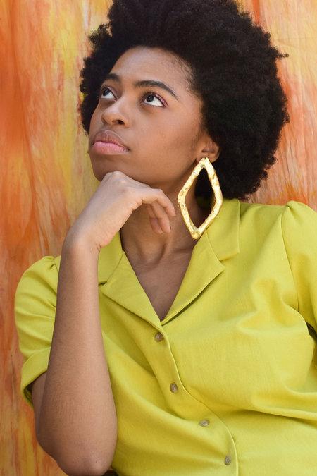 Doucement Cassandra Earrings - gold