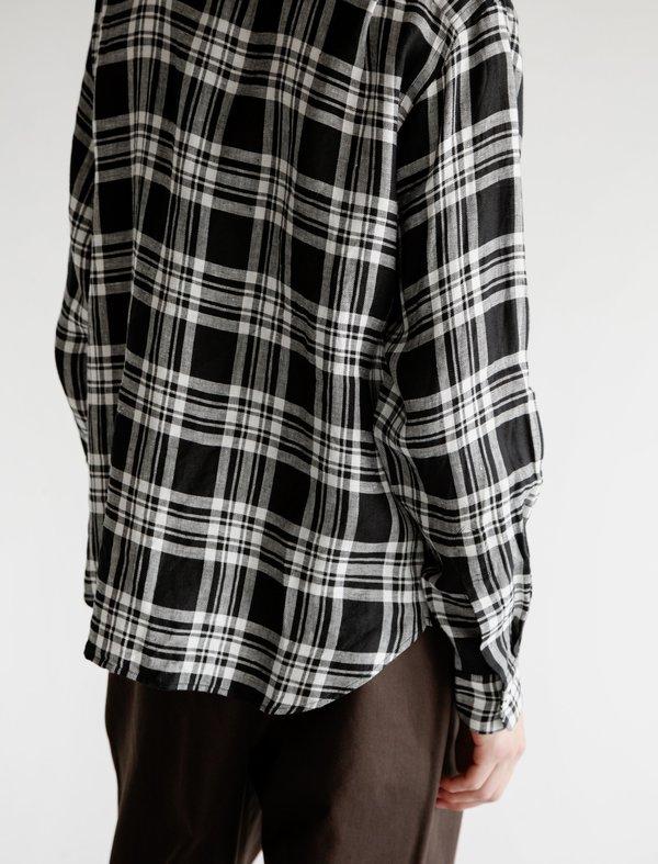 Margaret Howell Minimal Shirt - Oversized Linen Check