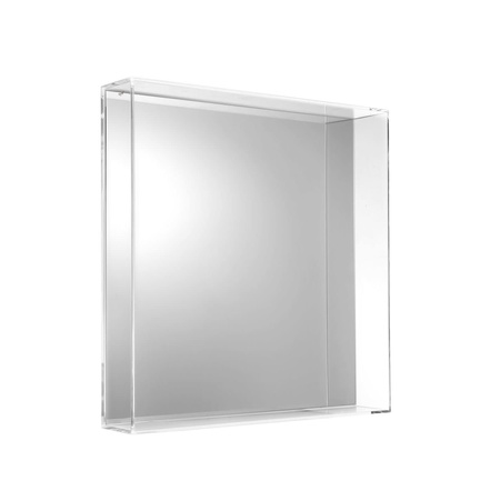 Kartell Only Me Square Mirror - Crystal