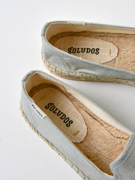 Soludos AGAVE SMOKING SLIPPER - CHAMBRAY