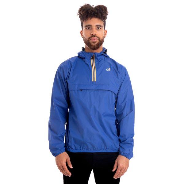 4f0b2c422 K-Way Le Vrai 3.0 Leon Half Zip Jacket - Blue Royal | Garmentory