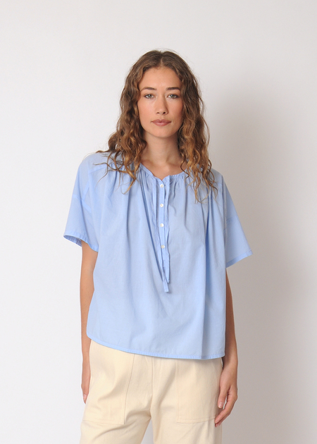 Gravel & Gold Caisie Top - Blue Moon