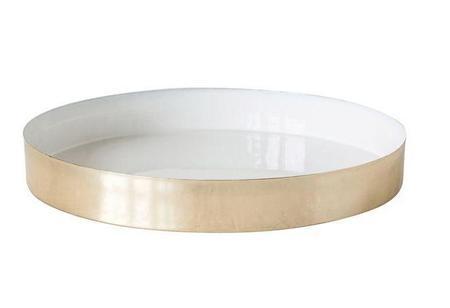 Bloomingville Enamel Tray - Brass