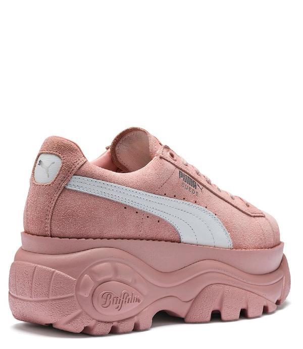code promo a8b7d 22227 Puma Suede Buffalo Sneakers - Rose