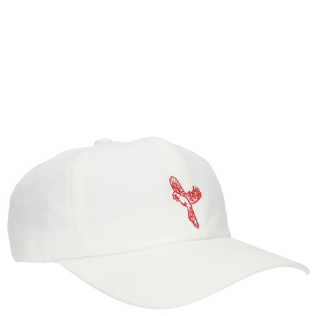 Band of Outsiders x Xhibition Embroidered Hat - WHITE