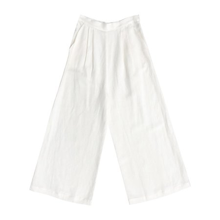 First Rite CROP CULOTTE - BONE
