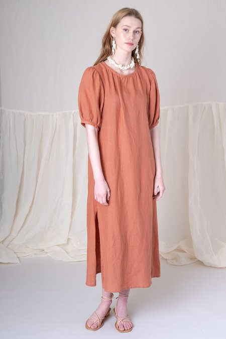 Town Clothes Portobello Dress - Clay