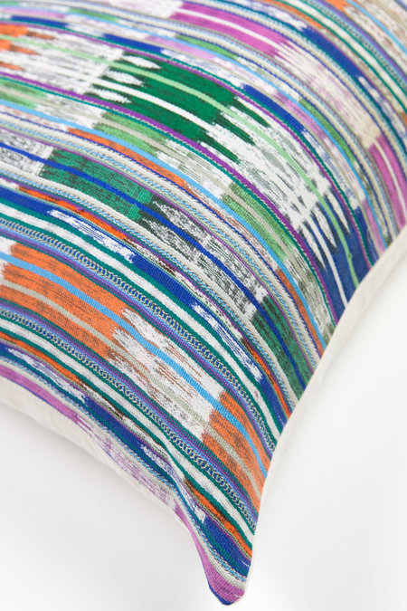 Archive New York Pillow - Magenta/Multi