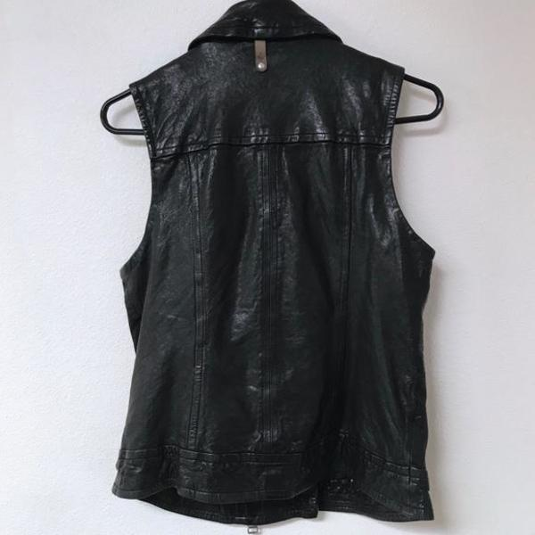 Vintage Mackage for Aritzia Frederica Vest - BLACK