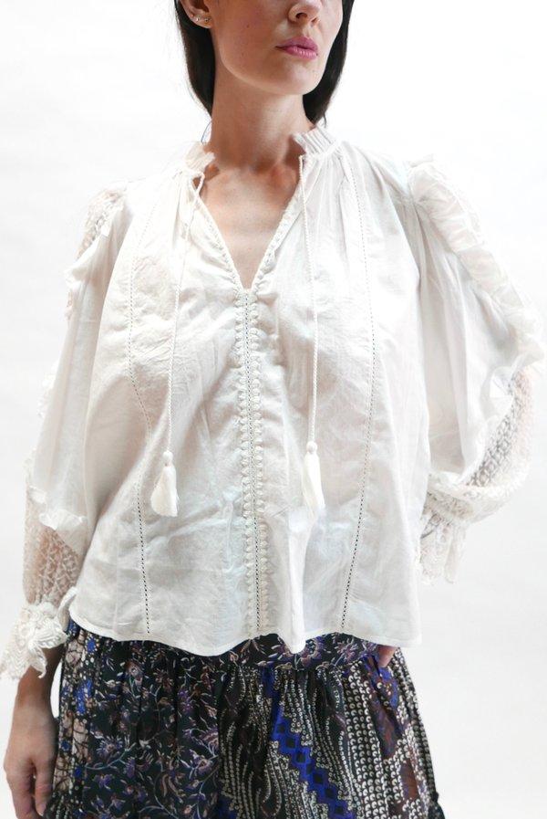 Ulla Johnson Shirley Blouse - Pristine