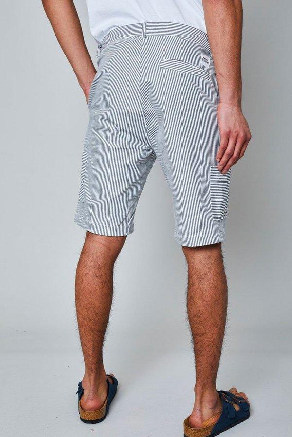 Native Youth Murphy Shorts - grey/white