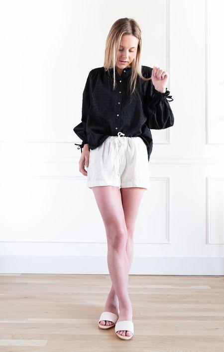 Bella Dahl Button Shorts - Flax