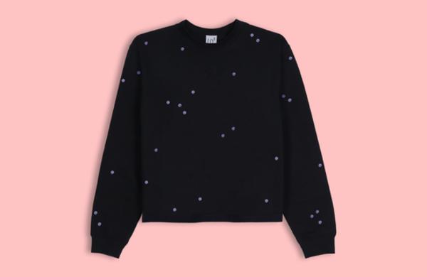 Lb2 Studio Moon Dots Sweater - Black