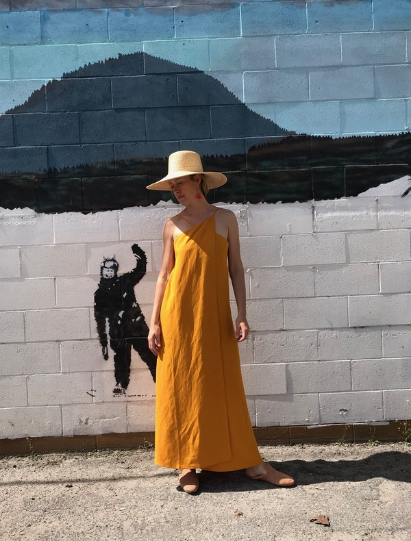 Shaina Mote Roma Dress - Mandarin