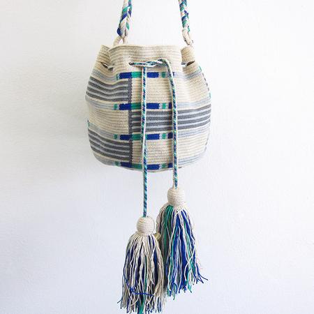 Guanábana Handmade Wayuu Mochila #4 Bag