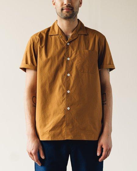 Arpenteur Pyjama Poplin Shirt - Camel