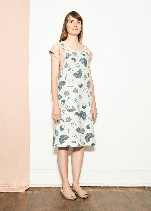 Atelier b. 1817w Dress - Gray