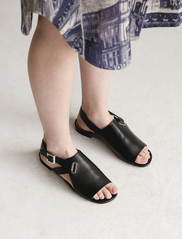 Robert Clergerie Ada Sandal - black