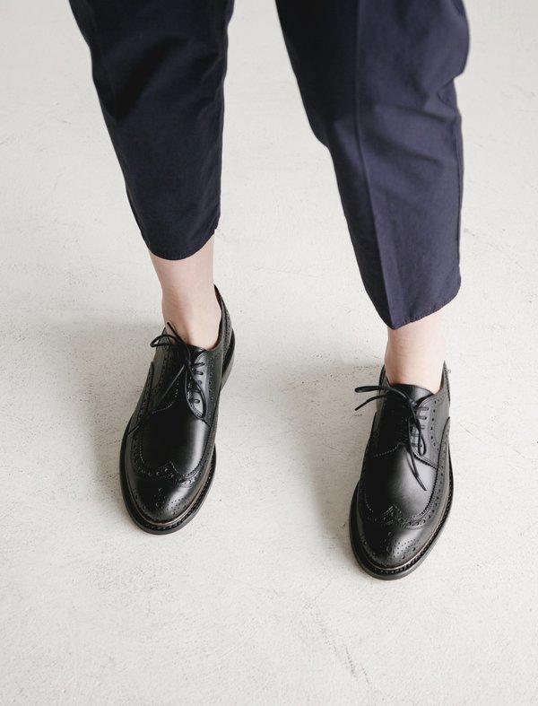 Robert Clergerie Roli Spectator Shoes - Black/Gunmetal
