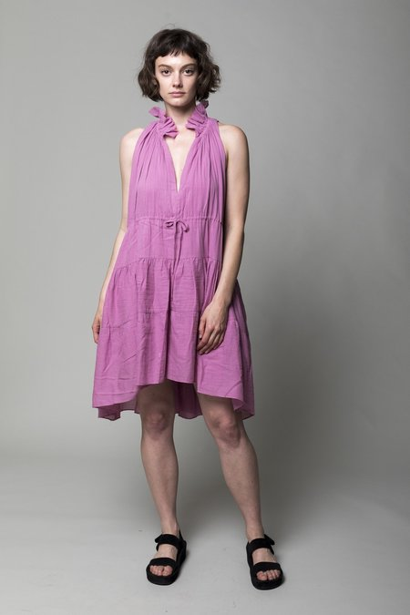 Loup Charmant Patmos Dress - Raspberry