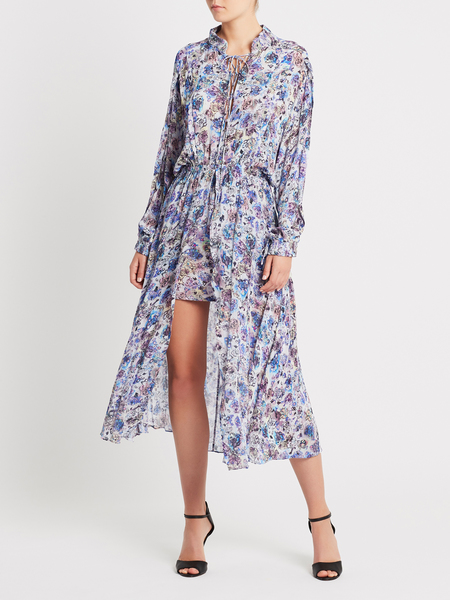 IRO Wye Dress - Blue Floral