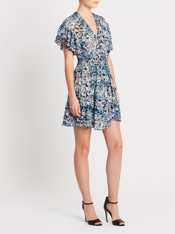 IRO Jenka Dress - Blue Floral