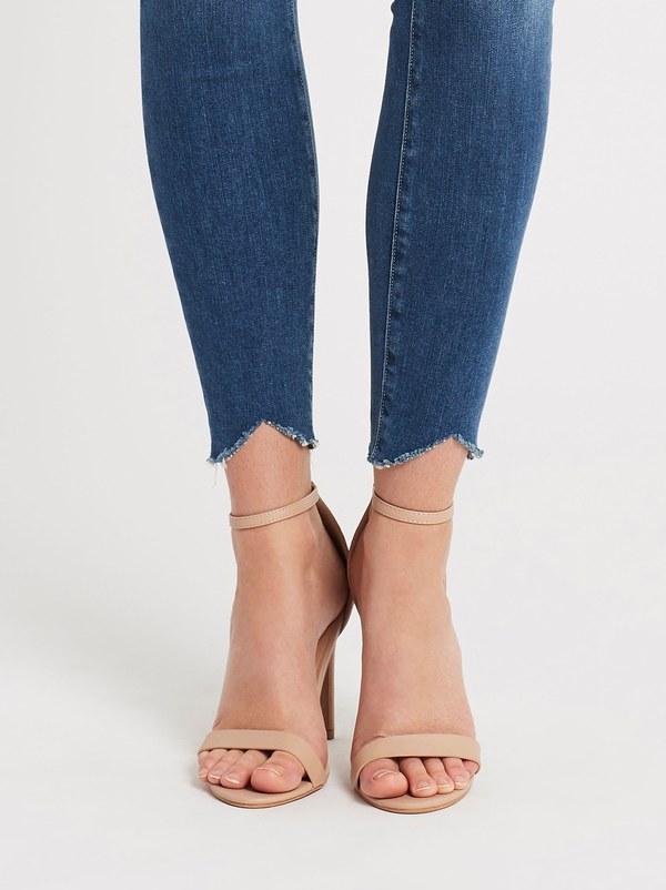 Paige Hoxton Ankle Jean - Mid Denim