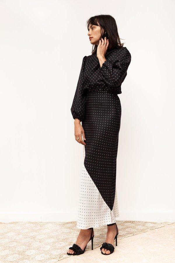 BEFORE MARCH Francois Dress - Silk Spot
