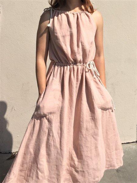 Happy Haus Robe Anouk Dress - Nude