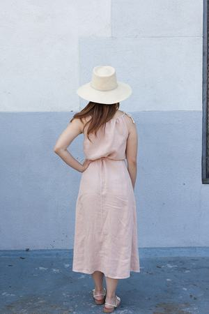 Happy Haus Robe Anouk Dress - Nude
