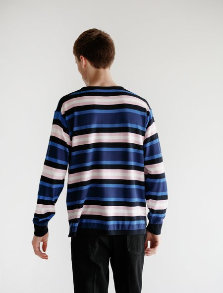 Meticulous Knitwear Hennessy Long Sleeve - Multi Stripe