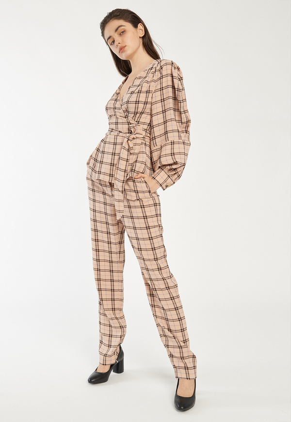 C/MEO Define Pant - Blush Check