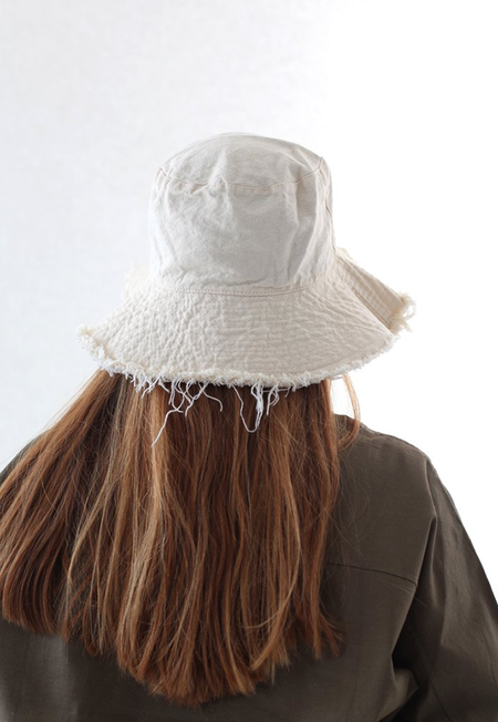 Collection & Co Eva Bucket Hat - Off-White