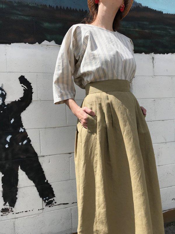 Micaela Greg Ellis Pleated Skirt