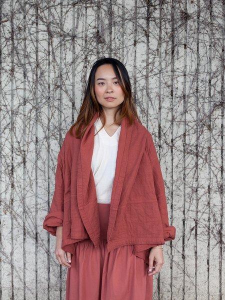 Atelier Delphine Kimono Jacket - Brick