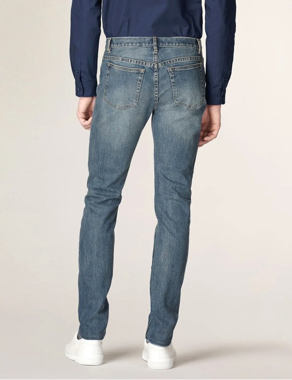 A.P.C. Petit New Standard Jeans (Slim Tapered) - Light Indigo Delave
