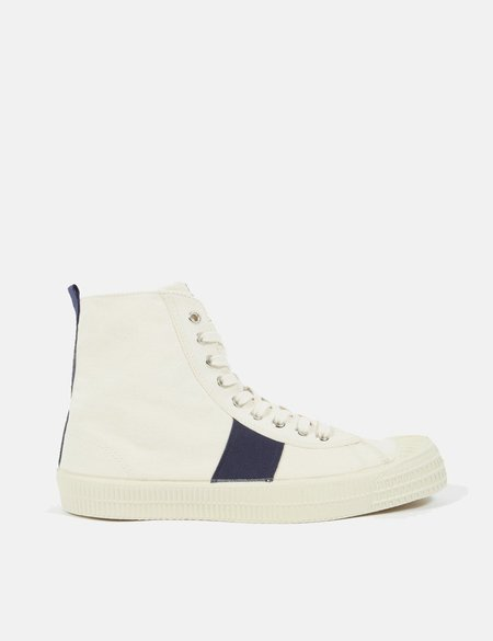 Novesta x Universal Works Star Hike - Ecru/Navy Blue