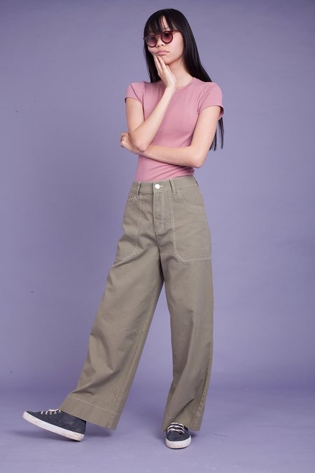 Markey Carpenter Trousers - Khaki