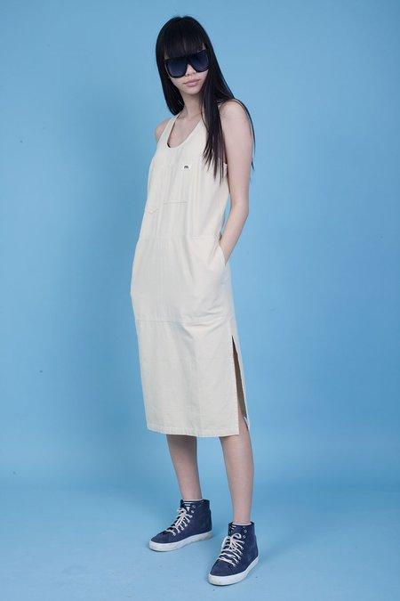 L.F.Markey Markey Collection Midi Utility Dress - stone