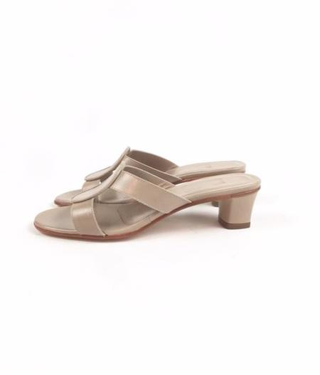 Martiniano Medalia soft kid leather Sandal