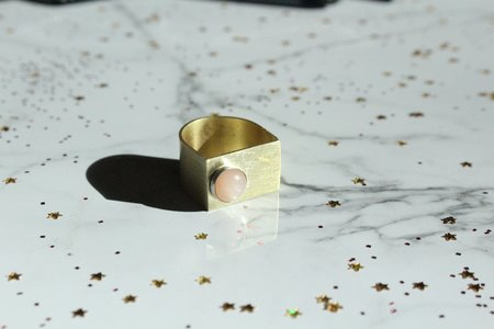Clster Peachy Keen Ring