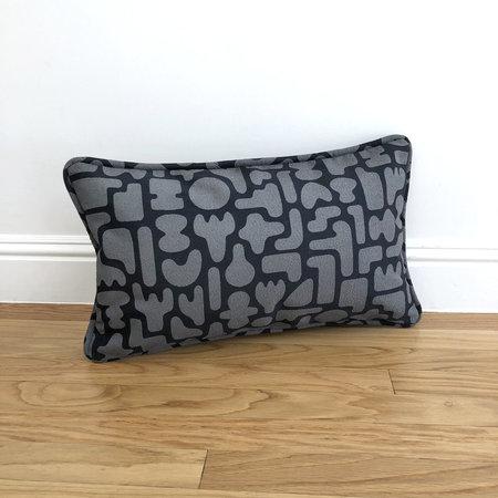 Dan Covert Pillows - GRAY