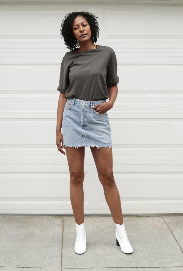 8c61292846db AGOLDE Quinn Mini Skirt - Swapmeet | Garmentory