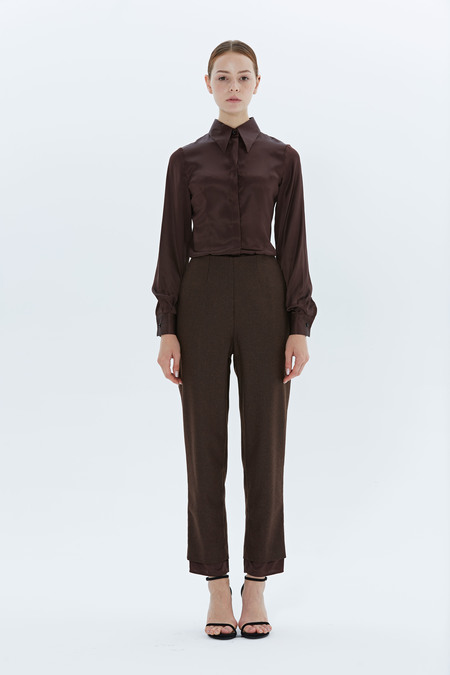 Archivio SKINNY TROUSERS - Brown
